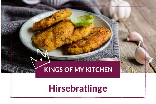 Rezept: Hirsebratlinge